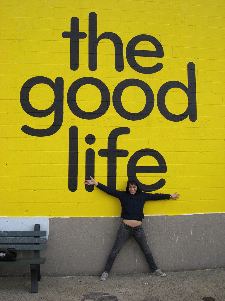 the good life Socrates: the good life socrates is generally considered the first major philosopher of western civilization before him there lived about a dozen other greek thinkers, the so-called.