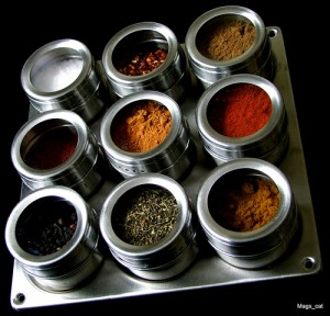 spice rack - top spice